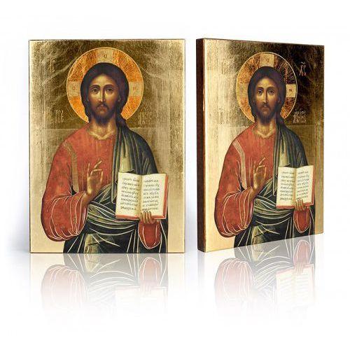 Ikona religijna Chrystus Pantokrator Nauczyciel