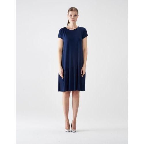 Sukienka su131 (Kolor: czarny, Rozmiar: Uniwersalny)