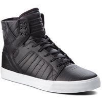 Sneakersy - skytop 08003-011-m black/white, Supra, 41-46