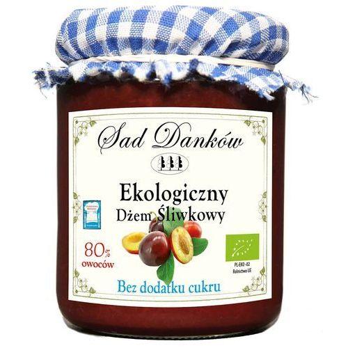 Ekologiczny dżem śliwkowy bez dodatku cukru 260g Sad Danków (5907736737543)