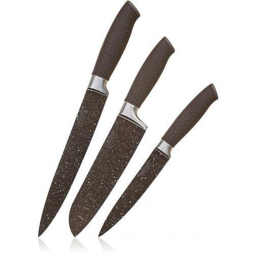 Banquet Zestaw noży z nieprzylegającą powierzchnią PREMIUM Dark Brown, 3 szt. (8591022395721)