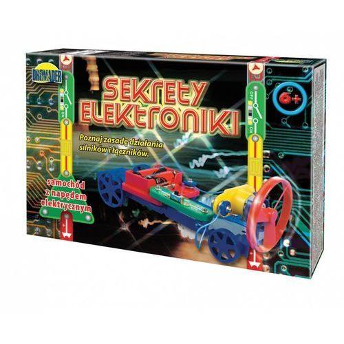 Dromader, Sekrety elektroniki, Auto, zabawka naukowa, 5_502874