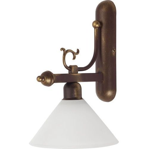 Nowodvorski Kinkiet cora 3483 lampa scienna 1x60w e27 brąz/złoty