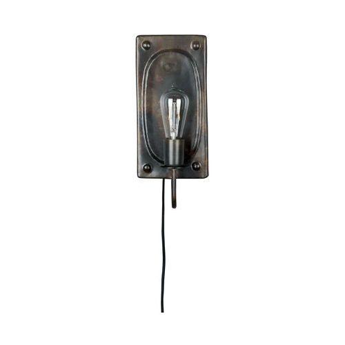 Dutchbone lampa ścienna brody brązowa 5400027