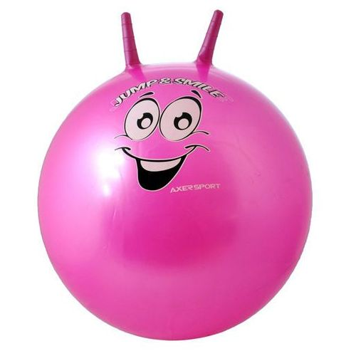 Axer sport Piłka skacząca a0046 55 cm różowy + zamów z dostawą jutro!