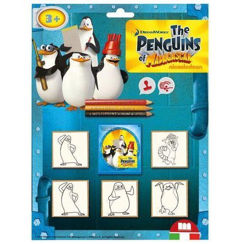 Multiprint Pieczątki blister 5 sztuk pingwiny (8009233058989)