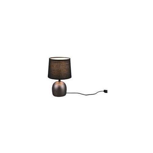 Trio rl malu r50802667 lampa stołowa lampka 1x10w e14 niklowa/czarna (4017807489712)