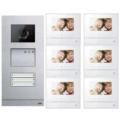 ABB Zestaw wideo 6-rodzinny ABB WELCOME BASIC GN2915 - Autoryzowany partner ABB, Automatyczne rabaty., GN2915