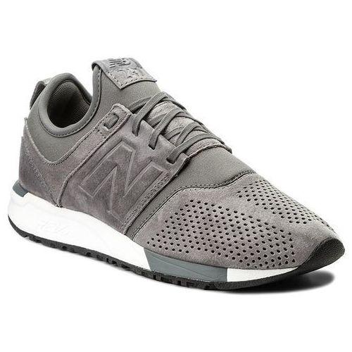 Sneakersy NEW BALANCE - MRL247LY Szary, kolor szary