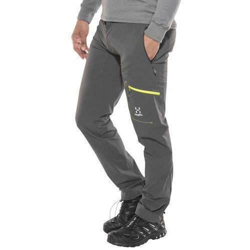 Haglöfs Lizard Spodnie długie Mężczyźni szary M 2018 Spodnie turystyczne, kolor szary