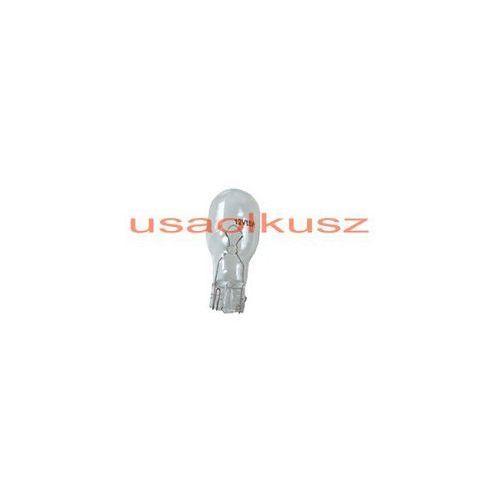 OKAZJA - Rozni Biała jednowłóknowa żarówka w16w12v - trzonek w2,1x9,5d stop