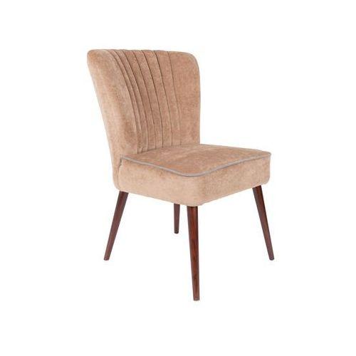 Dutchbone Krzesło SMOKER beżowe 1100328 (8718548037366)