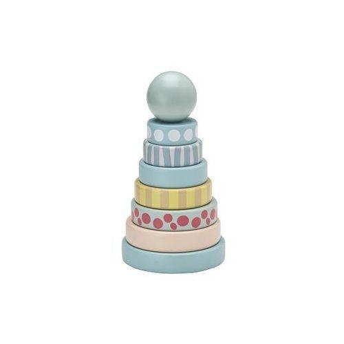 Wieża Drewniana Edvin Kids Concept - Zielona KC1000131, KC1000131
