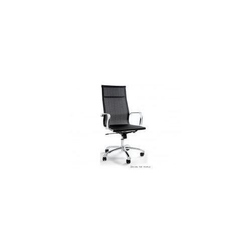 Krzesło biurowe drafty czarne marki Unique meble