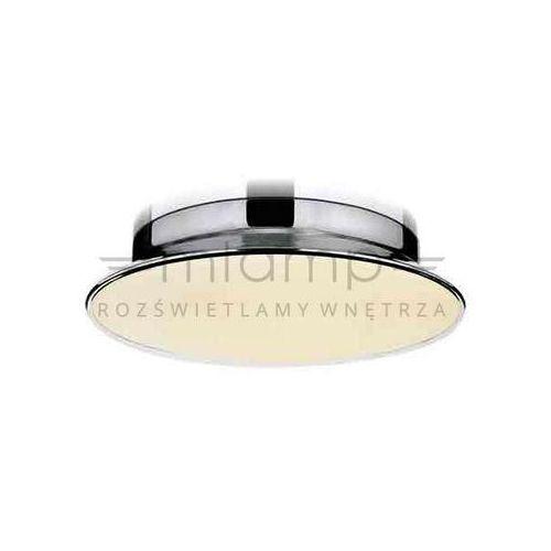 Orlicki design Plafon lampa sufitowa ladra 40 okrągła oprawa chrom biały (1000000280487)