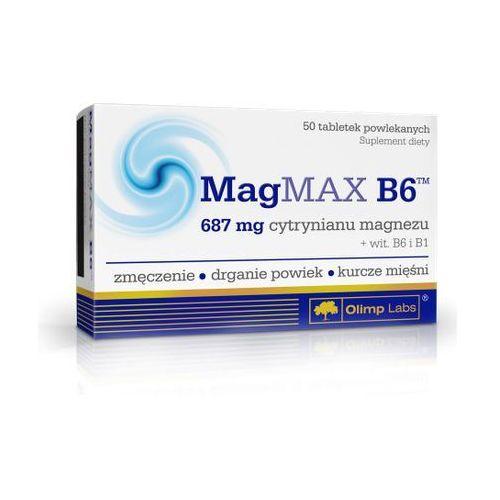 Olimp MagMax B6 (Cytrynian magnezu) 50 tabl.