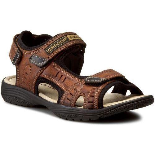 Sandały GREGOR - 01192-ME-V1510 Jasny Brąz
