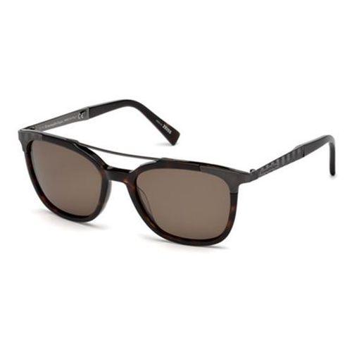 Okulary Słoneczne Ermenegildo Zegna EZ0073 Polarized 52M