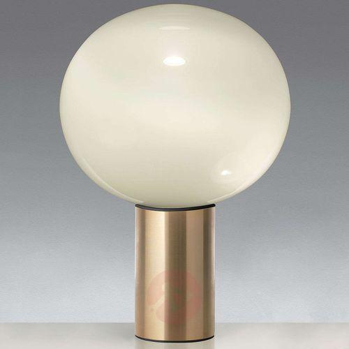 Artemide Laguna 37 lampa stołowa, mosiądz