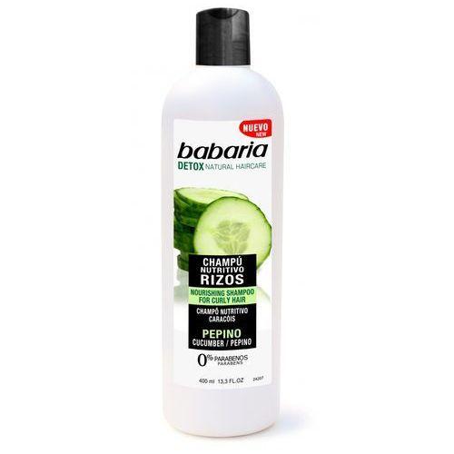 Babaria szampon odżywczy z wyciągiem z ogórka do włosów kręconych 400ml