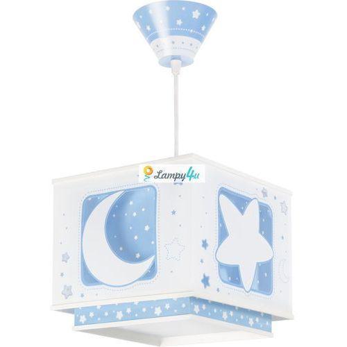 Prezent Lampa wisząca dziecięca pink moon 1xe27/60w