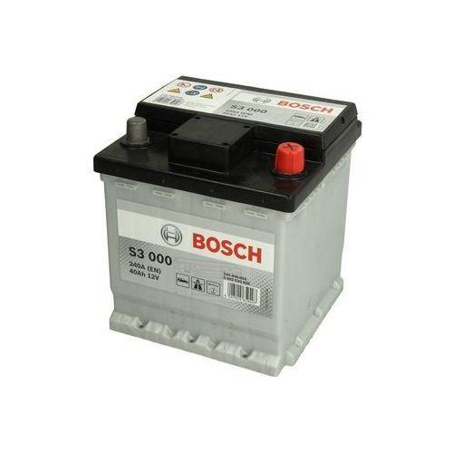 Akumulator BOSCH SILVER S3 000 - 40Ah 340A P+