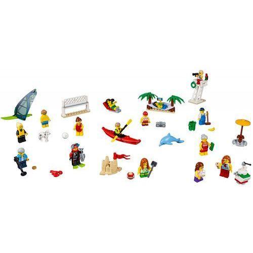 60153 ZABAWA NA PLAŻY (People pack - Fun at the beach) KLOCKI LEGO CITY