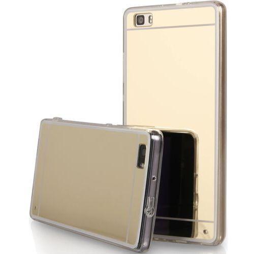 etui  back case mirror do huawei p8 lite złoty + zamów z dostawą jutro! marki Qult