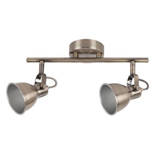 Listwa lampa sufitowa ralph 2x9w gu10 brąz 6728 marki Rabalux