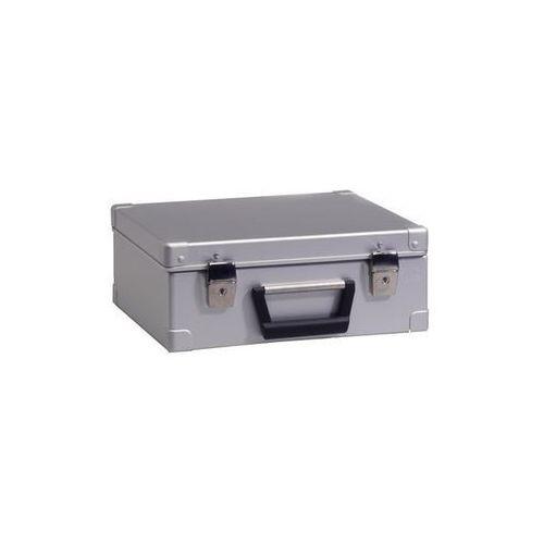 Zarges Walizka aluminiowa, poj. 15 l, zewn. dł. x szer. x wys. 370x330x145 mm, ciężar 1