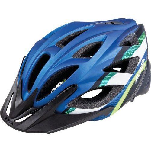 Alpina seheos l.e. kask rowerowy niebieski/kolorowy 55-59cm 2018 kaski rowerowe (4003692259608)