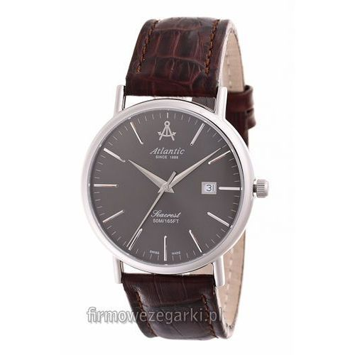 Atlantic 50344.41.41 Grawerowanie na zamówionych zegarkach gratis! Zamówienia o wartości powyżej 180zł są wysyłane kurierem gratis! Możliwość negocjowania ceny!