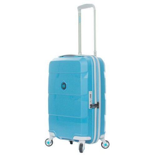 zip2 walizka mała kabinowa 20/55 cm / hip hop blue - hip hop blue marki Bg berlin