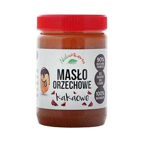510g naturalne masło orzechowe kakaowe marki Naturavena