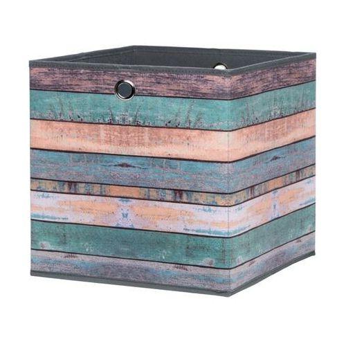 Kolorowe pudło wood 1 do regałów max marki Fontini