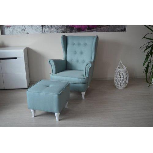 Marinex comfort&style Fotel uszak zestaw z podnóżkiem, idealny do karmienia dziecka i nie tylko