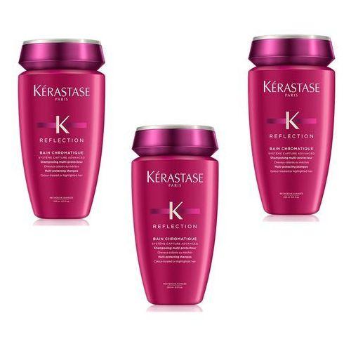 Kerastase Chromatique | Zestaw: kąpiel do włosów farbowanych i wrażliwych 3x250