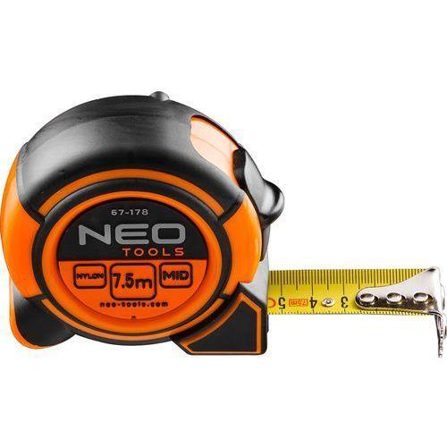 Miara zwijana NEO 67-173 stalowa 16 mm (3 m) (5907558415568)