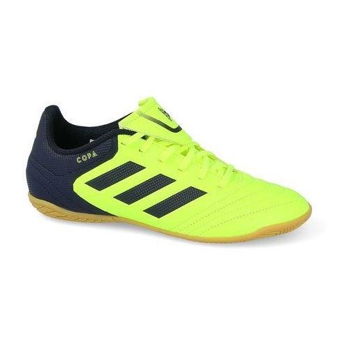 adidas Performance COPA 17.4 IN Halówki solar yellow/legend ink, kolor żółty