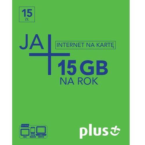 Starter - nowy pink 15zł/15gb marki Plus