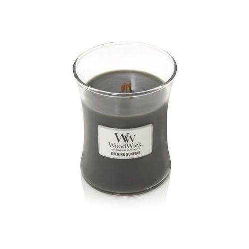 - świeca średnia evening bonfire 100h marki Woodwick