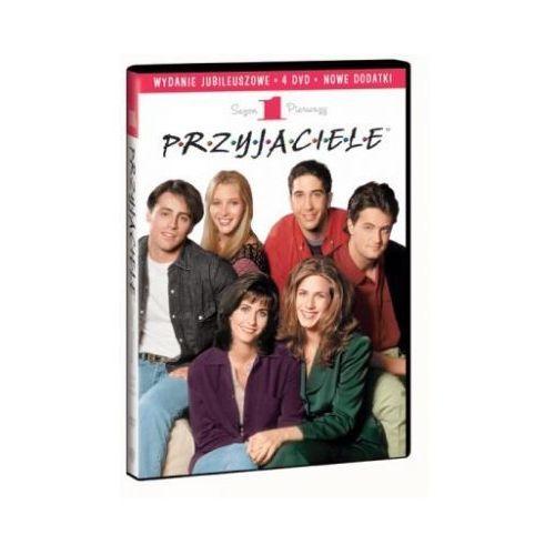 Przyjaciele - edycja jubileuszowa (sezon 1, 4 DVD) (7321997263517)