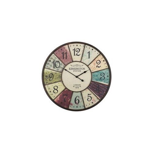 Zegar ścienny kolorowy BOSWIL, kolor wielokolorowy