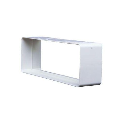 Domus Łącznik kanałów płaskich 20,4x6 cm kod 520 - specjalistyczny sklep - 28 dni na zwrot - raty 0%