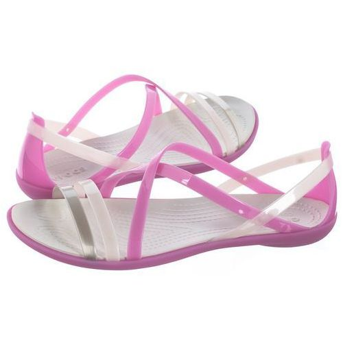 Sandały Crocs Isabella Strappy Sandal W Violet/Oyster 204915-5P7 (CR149-d), kolor różowy