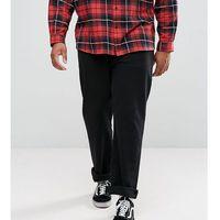Levi's Big & Tall 501 Straight Jeans Black - Black, jeans