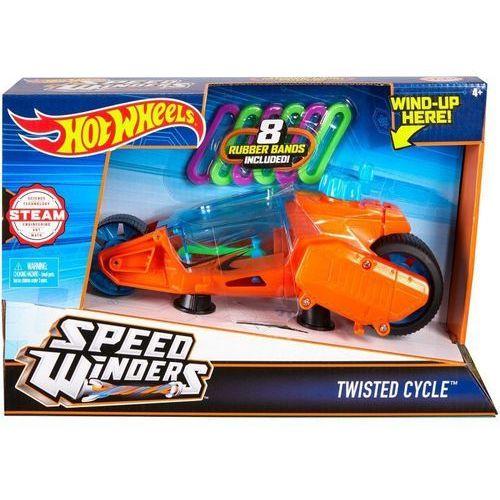 Hot Wheels - Autonakręciak i motocykle, pomarańczowy