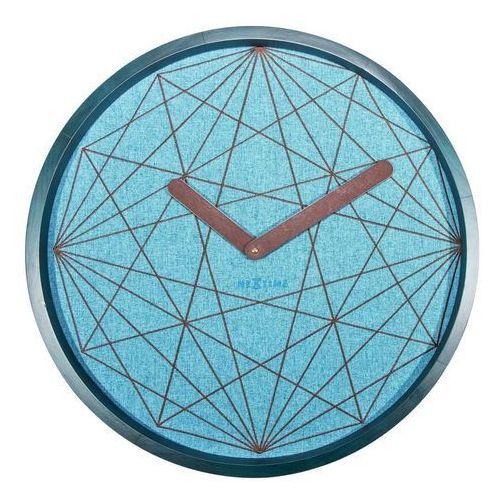 Nextime Zegar ścienny calmest geometryczny