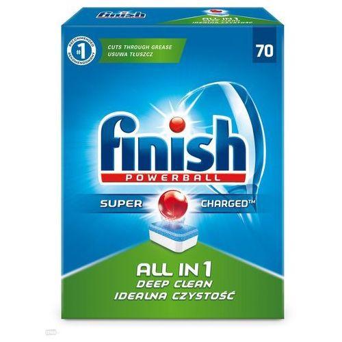 Finish 70szt powerball all in 1 tabletki do zmywarki