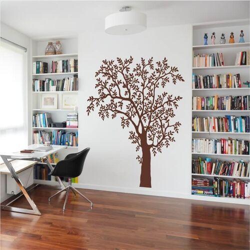 Wally - piękno dekoracji Naklejka na ścianę drzewo 2381